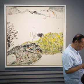 """04 Installation view of the opening ceremony of """"Today I Blossom – Tongxi Xiaochan's Unrestrained Poetry and Painting"""" 290x290 - """"Today I Blossom – Tongxi Xiaochan's Unrestrained Poetry and Painting"""" Opened at 798 Art Center"""