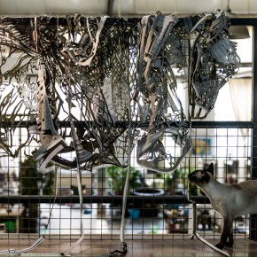 """04 Qiao Xiaoguangs Studio 290x290 - """"Paper Dialogues – The Dragon and Our Stories"""" showcases an artistic collaboration of two artists from China and Scandinavia"""
