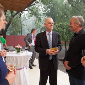 05 Guests attended the Opening Ceremony of 2014 HLN Beijing Design Week 290x290 - The Opening Ceremony of 2014 HLN Beijing Design Week Held at Dutch Ambassador's Residence