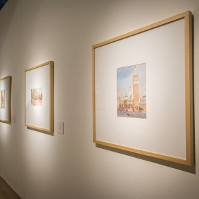 "10 Installation view of the ""Artistic Conception of Human Settlements – Exhibition of Paintings Calligraphy and Architecture Designs of Wu Liangyong""  290x290 - ""Artistic Conception of Human Settlements – Exhibition of Wu Liangyong"" Opened at the NAMOC"