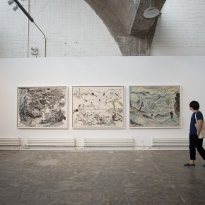 """12 Installation view of the opening ceremony of """"Today I Blossom – Tongxi Xiaochan's Unrestrained Poetry and Painting"""" 290x290 - """"Today I Blossom – Tongxi Xiaochan's Unrestrained Poetry and Painting"""" Opened at 798 Art Center"""
