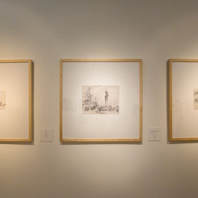 "13 Installation view of the ""Artistic Conception of Human Settlements – Exhibition of Paintings Calligraphy and Architecture Designs of Wu Liangyong""  290x290 - ""Artistic Conception of Human Settlements – Exhibition of Wu Liangyong"" Opened at the NAMOC"