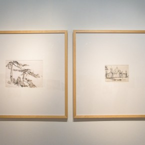 "14 Installation view of the ""Artistic Conception of Human Settlements – Exhibition of Paintings Calligraphy and Architecture Designs of Wu Liangyong""  290x290 - ""Artistic Conception of Human Settlements – Exhibition of Wu Liangyong"" Opened at the NAMOC"
