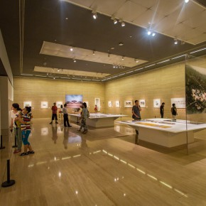 "17 Installation view of the ""Artistic Conception of Human Settlements – Exhibition of Paintings Calligraphy and Architecture Designs of Wu Liangyong""  290x290 - ""Artistic Conception of Human Settlements – Exhibition of Wu Liangyong"" Opened at the NAMOC"