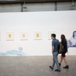 """17 Installation view of the opening ceremony of """"Today I Blossom – Tongxi Xiaochan's Unrestrained Poetry and Painting"""" 290x290 - """"Today I Blossom – Tongxi Xiaochan's Unrestrained Poetry and Painting"""" Opened at 798 Art Center"""