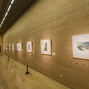"18 Installation view of the ""Artistic Conception of Human Settlements – Exhibition of Paintings Calligraphy and Architecture Designs of Wu Liangyong""  290x290 - ""Artistic Conception of Human Settlements – Exhibition of Wu Liangyong"" Opened at the NAMOC"