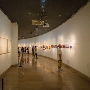 "19 Installation view of the ""Artistic Conception of Human Settlements – Exhibition of Paintings Calligraphy and Architecture Designs of Wu Liangyong""  290x290 - ""Artistic Conception of Human Settlements – Exhibition of Wu Liangyong"" Opened at the NAMOC"