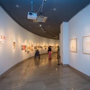 "20 Installation view of the ""Artistic Conception of Human Settlements – Exhibition of Paintings Calligraphy and Architecture Designs of Wu Liangyong""  290x290 - ""Artistic Conception of Human Settlements – Exhibition of Wu Liangyong"" Opened at the NAMOC"