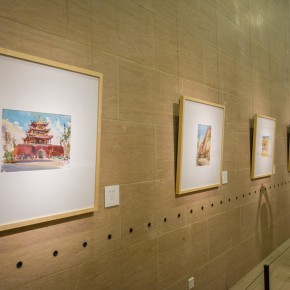 "21 Installation view of the ""Artistic Conception of Human Settlements – Exhibition of Paintings Calligraphy and Architecture Designs of Wu Liangyong""  290x290 - ""Artistic Conception of Human Settlements – Exhibition of Wu Liangyong"" Opened at the NAMOC"