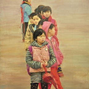 23 Huang Jiangzi's work 290x290 - From Ignorance to Ignorance – Group Exhibition of Six Postgraduates from the Department of Oil Painting