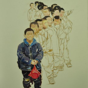 24 Huang Jiangzi's work 290x290 - From Ignorance to Ignorance – Group Exhibition of Six Postgraduates from the Department of Oil Painting