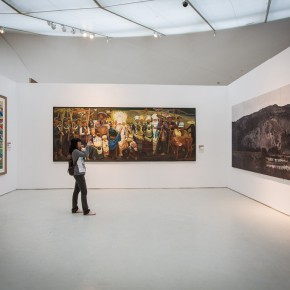 36 View of the Mural Painting Section at the 12th National Art Exhibition and the 3rd National Mural Painting Exhibition 290x290 - The Mural Painting Section at the 12th National Art Exhibition and the 3rd National Mural Painting Exhibition Inaugurated at CAFAM
