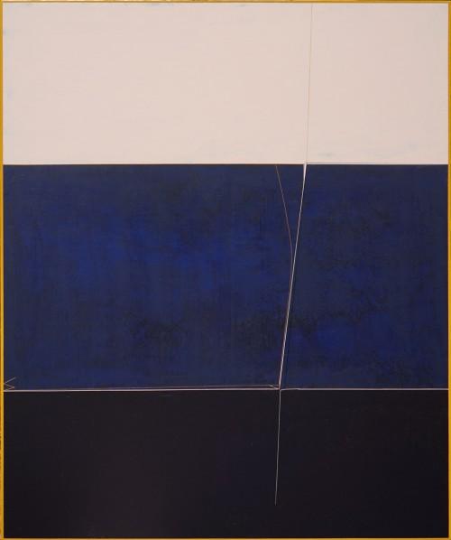 Qian Jiahua, Syncretism-2, 2014; acrylic on canvas,  180×150cm