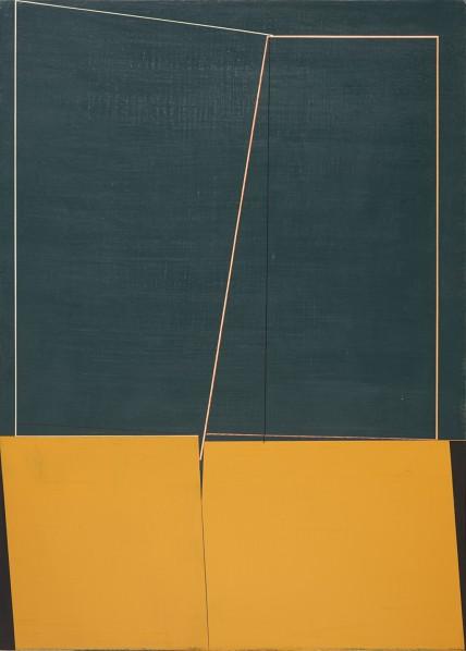 Qian Jiahua, Wild Fancy-3, 2014; acrylic on canvas, 120×85cm
