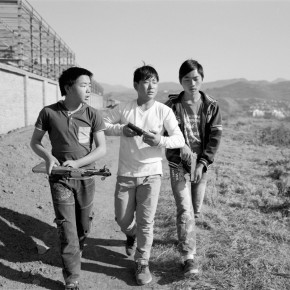 Wang Bing, Father and Sons 08