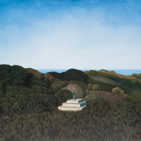 "Zhang Yingnan Distance oil on canvas 130 x 97 cm 20142 290x290 - Contemplation on Reality: Group Exhibition of ""Landscape of Mind"" Unveiled at ARTMIA Gallery"