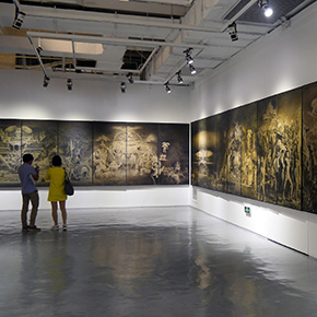 Long Scroll: Allegorization of the World Opened at the Three Distances Contemporary Art Center