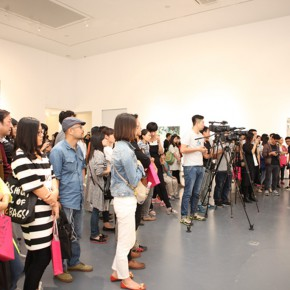 01 View of the opening ceremony 290x290 - Xu Hongxiang's Solo Exhibition – The Sixth Round of 1 in 100 Art Nova Solo Exhibition Series Opened at SZ Art Center