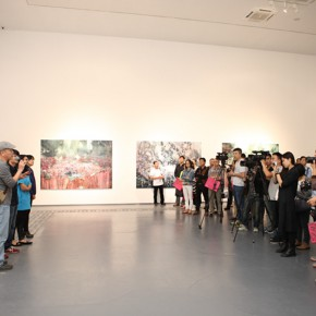 02 View of the opening ceremony  290x290 - Xu Hongxiang's Solo Exhibition – The Sixth Round of 1 in 100 Art Nova Solo Exhibition Series Opened at SZ Art Center