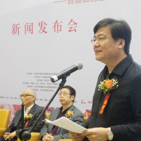 "03 Gao Hong Party Secretary of CAFA addressed the audience 290x290 - ""Pursuit of Excellence – Artists from the Academy"" The First Nationwide Touring Exhibition of Oil Painting Started in CAFA"