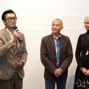 """04 Gao Peng Director of Today Art Museum 290x290 - Chinese Dragon Encounters Nordic Dragon """"Paper Dialogue - The Dragon and Our Stories"""" Exhibition Opened at Today Art Museum"""