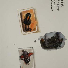 05 Chen Xi's watercolor painting 290x290 - Stein und Statue: Aquarelle von Chen Xi Held at Galerie Schillerstrasse Heidelberg, Germany