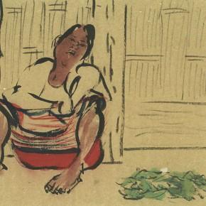 """05 Pei Yongmei """"Wa Woman No.4"""" colored ink on paper 50 x 80 cm 2003 290x290 - Pei Yongmei"""
