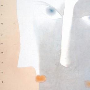 """06 Lu Fusheng """"Appropriate"""" colored ink 252 x 125 cm 2014 290x290 - """"Between the Visible and Imagination"""" Lu Fusheng Art Exhibition opening at Jiangsu Art Museum"""