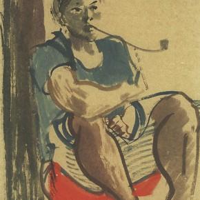 """06 Pei Yongmei """"Wa Woman No.2"""" colored ink on paper 50 x 80 cm 2003 290x290 - Pei Yongmei"""