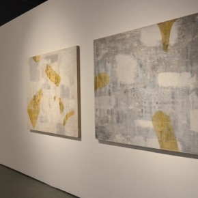 """10 Installation view of """"New Generation of Abstract Art"""" 290x290 - New Generation of Abstract Art - Sishang Art Museum Experimental Plan in the Third Round Opened"""