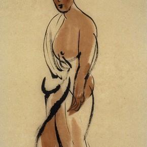 "13 Pei Yongmei ""Untitled No.2"" colored ink on paper 50 x 80 cm 2002 290x290 - Pei Yongmei"