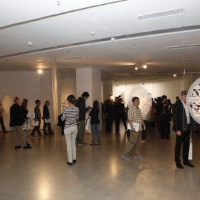 """14 View of the opening ceremony 290x290 - Chinese Dragon Encounters Nordic Dragon """"Paper Dialogue - The Dragon and Our Stories"""" Exhibition Opened at Today Art Museum"""