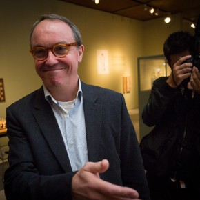 """15 Curator Hans De Wolf led the audience which was present at the exhibition to visit the exhibition 290x290 - """"Master Mould and Copy Room"""" grandly opened in the CAFA Art Museum"""