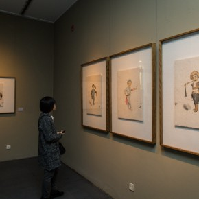 """21 Installation View of""""Vernacular Liu Qinghe Speaks"""" 290x290 - Resurrected in """"Vernacular"""": Liu Qinghe's Solo Exhibition Unveiled at the Beijing Fine Art Academy"""