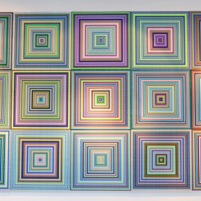 """21 Installation view of """"New Generation of Abstract Art"""" 290x290 - New Generation of Abstract Art - Sishang Art Museum Experimental Plan in the Third Round Opened"""