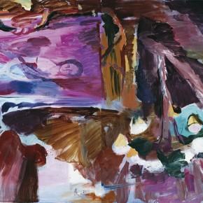 """23 Pei Yongmei """"Chocolate No.3"""" oil on canvas 400 x 250 cm 2012 290x290 - Pei Yongmei"""