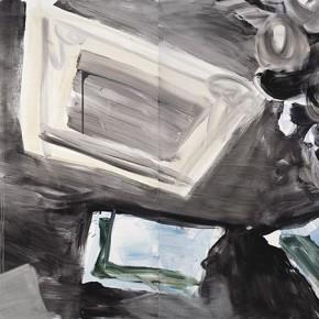"""26 Pei Yongmei """"Chocolate No.7"""" oil on canvas 500 x 220 cm 2012 290x290 - Pei Yongmei"""