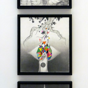 """27 Installation view of """"Polytypic Evolution A Close up Observation"""" 290x290 - Polytypic Evolution: A Close-up Observation Opened in Shenzhen to Reflect the Current Situation of Art Education"""