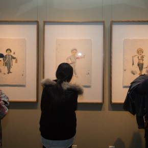 """30 Installation View of""""Vernacular Liu Qinghe Speaks"""" 290x290 - Resurrected in """"Vernacular"""": Liu Qinghe's Solo Exhibition Unveiled at the Beijing Fine Art Academy"""