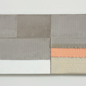 """33 Wang Hao """"The Silence No.9"""" 54 x 24 cm cement mixed media 2013 290x290 - New Generation of Abstract Art - Sishang Art Museum Experimental Plan in the Third Round Opened"""