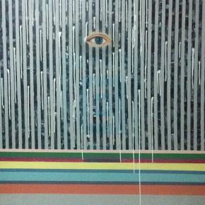 "60 Li Kezheng ""Saramago's Rumor"" acrylic on canvas 160 x 180 cm 2013 290x290 - New Generation of Abstract Art - Sishang Art Museum Experimental Plan in the Third Round Opened"