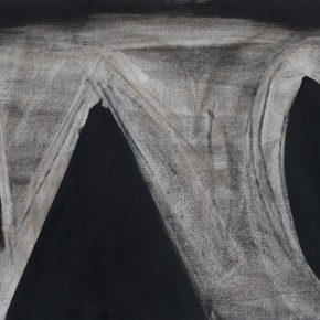 67 Kang Haitao acrylic on paper 76.5 x 55 cm  290x290 - New Generation of Abstract Art - Sishang Art Museum Experimental Plan in the Third Round Opened