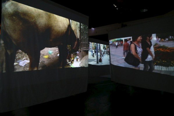 Leung Mee-ping, Out of Place, 2012;   Video installation