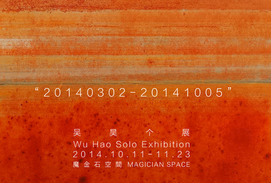 Poster of Wu Hao Solo Exhibition