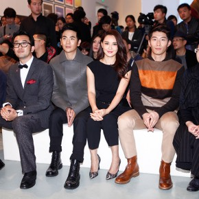 02 From left to right Tan Ping Vice President of the China National Academy of Arts Gao Peng Director of Today Art Museum well known movie stars Zhang Xiaolong Mo Xiaoqi and Dou Xiao Li Qianrun 290x290 - Today Art and Fashion Award and Exhibition (TAFA) Inaugurated at Today Art Museum