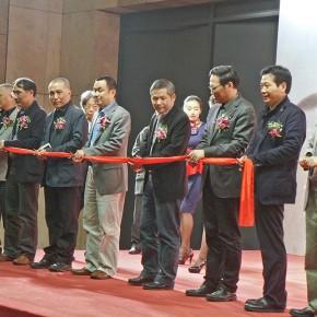 "02 The Opening of ""Between the Visible and Imagination"" Lu Fusheng Art Exhibition 290x290 - ""Between the Visible and Imagination"" Lu Fusheng Art Exhibition Grandly opened at Jiangsu Art Museum"