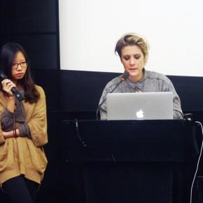 "03 Italian sound designer Chiara Luzzana 290x290 - ""The 3rd International Forum of New Media Art • Chronology of New Media Art"" Successfully Held in Sichuan Fine Arts Institute"