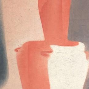 "03 Lu Fusheng ""Appearance"" colored ink 252 x 120 cm 2014 290x290 - ""Between the Visible and Imagination"" Lu Fusheng Art Exhibition Grandly opened at Jiangsu Art Museum"