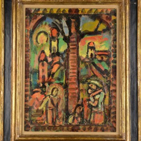 "03 Painting by George Rouault 290x290 - ""Masters Research Project of the Chinese Academy of Oil Painting Exhibition Hall – Rouault Works Exhibition"" opens on November 22"
