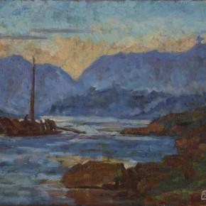 04 Feng Fasi Sketch of Landscape Along Changjiang River in Chongqing No. 14 1957 290x290 - Retrospect Exhibition of Mr. Feng Fasi: Cutting Mountain Paths Opening Nov. 29 at CAFAM